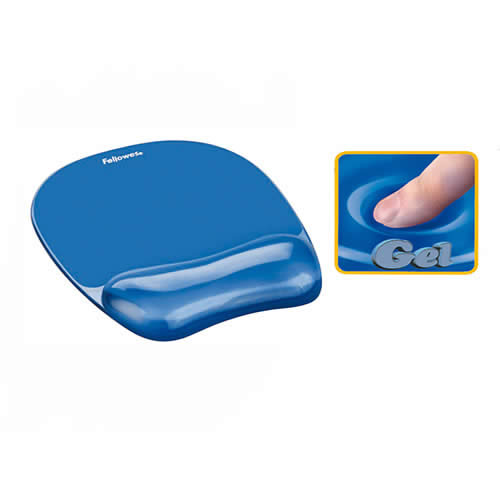 ALFOMBRILLA FELLOWES GEL AZUL (9114120)