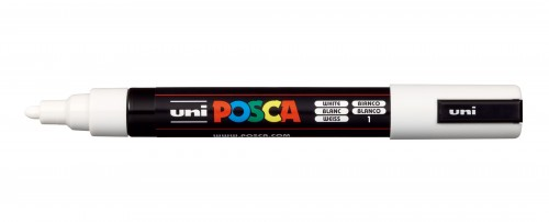 ROTULADOR POSCA PC-5M BLANCO